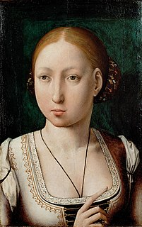 Joanna of Castile queen of Castile from 1504 and of Aragon from 1516