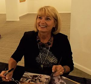 Judith Ford - Judith Ford Nash in 2015 at an autograph session during Miss American Pageant weekend.