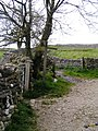 Junction of paths, Dalesway, Grassington - geograph.org.uk - 1317330.jpg