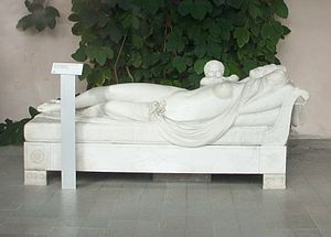 Ulriksdal Palace - Juno suckling the infant Hercules, Orangery