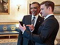 Justin Timberlake and Barack Obama at The White House - 2.jpg