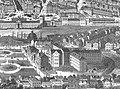 Königliches Zellengefängnis Gerichtsgefängnis Hannover Illustrirte Zeitung 1872 Schützenfest Stich nach Zeichnung von Carl Grote1872 Ausschnitt.jpg