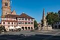 Königsplatz, Rathaus, Brunnen Schwabach 20190626 003.jpg