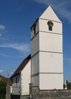 Kœstlach - Image: Kœstlach, Eglise Saint Léger 1