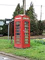 K6 telephone box on the village green in Rushall - geograph.org.uk - 1779737.jpg