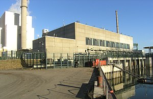 Philippsburg Nuclear Power Plant - Image: KKP Einlauf