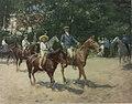 Kaiser Franz Joseph I. bei den Reitübungen seiner Enkel in Wallsee.jpg