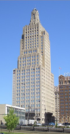 Kansas City Power and Light Building 1931.jpg