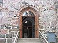 Karjalohjan kirkko ovi.JPG
