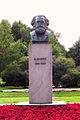 Karl Marx. Garden in front of Smolny. 2015.jpg