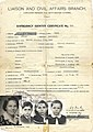 Karl Sidor's family stateless travel document sued to leave Italy for Canada in 1949.jpg