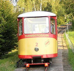 Turmberg - Image: Karlsruhe Turmbergbahn 2