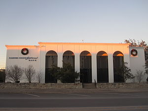 Karnes City, Texas - Karnes City National Bank is across from City Hall.