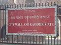 Kashmere Gate - ASI Board.JPG