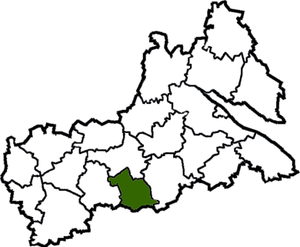 Katerinopolsky district on the map