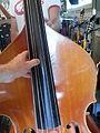 Kay S-51 5 string Bass Viol SN7496 (c.1940) fingerboard.jpg
