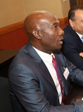 Trinidad and Tobago general election, 2015 - Keith Rowley