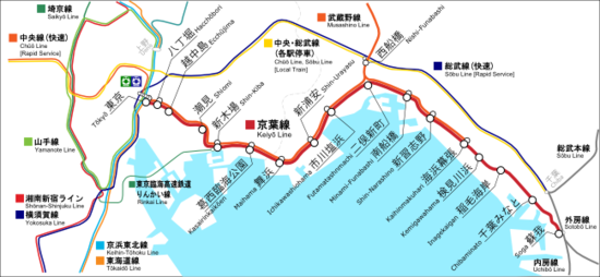 線 路線 図 武蔵野
