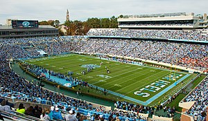 Kenan Memorial Stadium - Image: Kenan Memorial Stadium