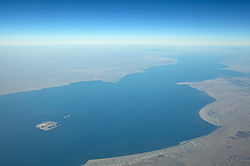 Lake Turkana Aerial Photo