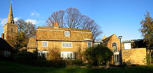 Kettle's Yard - The three cottages which comprise the main house of Kettle's Yard.