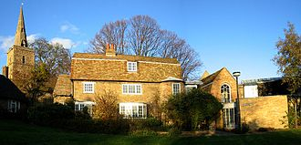 Kettle's Yard - The cottages which comprise the main house of Kettle's Yard
