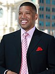 Kevin Johnson, Mayor of Sacramento, CA, skyline of Sacramento (1).jpg