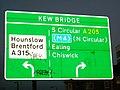 Kew Bridge - South Circular Road A205 - geograph.org.uk - 677234.jpg