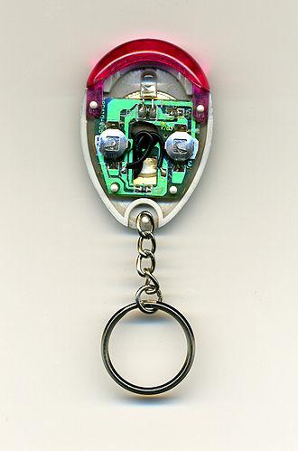 Key finder - Image: Keyfinder inside