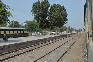Khanewal Junction railway station