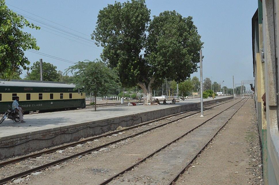 Khanewal Junction Station