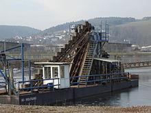 Beverungen gravel pit, bucket chain excavator 01.JPG