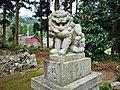 Kikube-Jinjya(Yosano)狛犬 阿.jpg