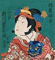 Kikunojō Segawa II as Shūchaku-jiashi.jpg