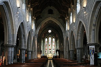 St Canice's Cathedral - Interior of the church