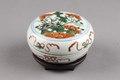 Kinesisk porslins ask gjord under Kangxi 1662-1722, Qing-dynastin - Hallwylska museet - 95713.tif