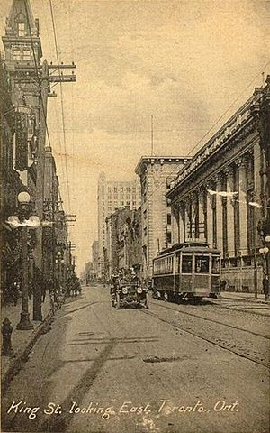 The Dominion Bank - Image: King Street looking east, Toronto, Ontario