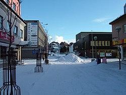 Kirkenes Fußgängerzone im Februar 2005.jpg