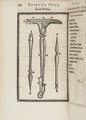 Kirurgiska instrument, 1500-tal - Skoklosters slott - 102619.tif