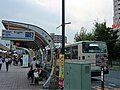 Kiyose Station North Exit Bus station.jpg