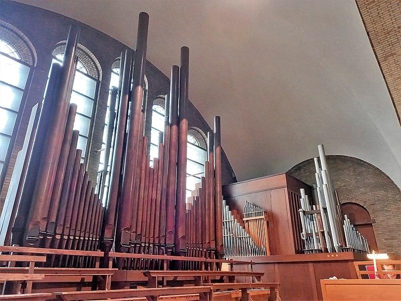 Datei:Knokke, Heilig Hart (Klais-Orgel, Prospekt) (22).jpg