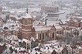 Kościół św. Jana w Gdańsku, widok z wieży Bazyliki Mariackiej.jpg