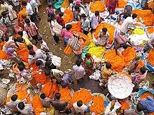 Mallikghat flower market
