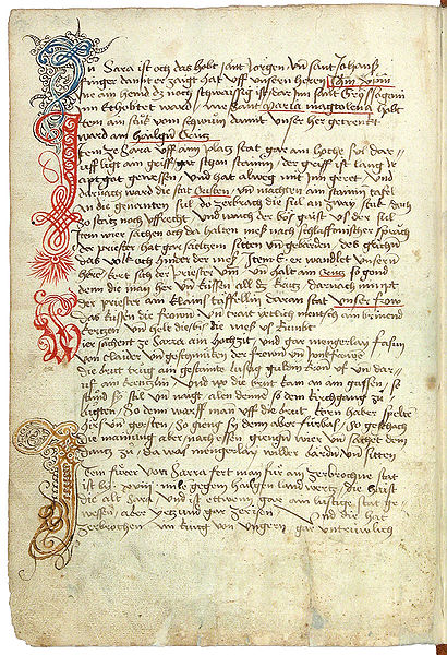 File:Konrad von Grünenberg - Beschreibung der Reise von Konstanz nach Jerusalem - Blatt 10v - 026.jpg