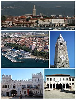 Koper City in Slovene Littoral, Slovenia
