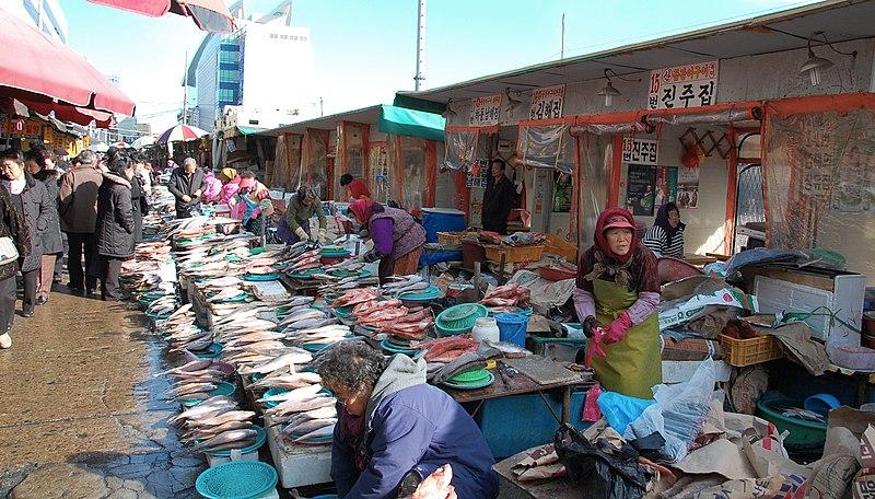 File:Korea-Busan-Jagalchi Fish Market-02.jpg