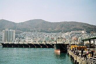 Jagalchi Market - Image: Korea Busan Jagalchi Market 04