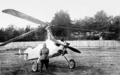 Koshits D.A. against the backdrop of a gyroplane A-14.png