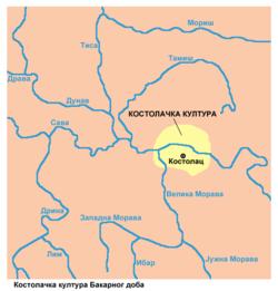 mapa srbije kostolac Kostolac — Vikipedija, slobodna enciklopedija mapa srbije kostolac