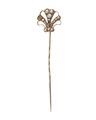 Kråsnål av guld med pärlor, 1830-tal - Hallwylska museet - 109954.tif